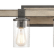 Steel Crenshaw 3-Light Vanity Light