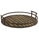 Home Accents Vermont Iron and Wood Tray