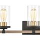 Steel Geringer 4-Light Vanity Light