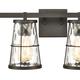 Steel Kendrix 2-Light Vanity Light