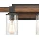 Steel Crenshaw 3-Light Vanity Light