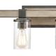 Steel Crenshaw 2-Light Vanity Light