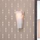 Alabaster Borealis Tall Hexagon Wall Sconce