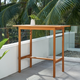 Vifah Gloucester Outdoor Counter Height Dining Table