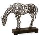 Home Accents Anatole Woven Horse Statuary