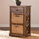 Jayton 2-Basket Storage Shelf