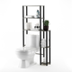 Furinno Turn-N-Tube Toilet Space Saver with 5 Shelves