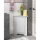 Furinno Indo Corner Louver Door Cabinet