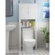 Furinno Indo Double Door Bath Cabinet