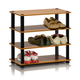 Furinno Turn-S-Tube 4-Tier Shoe Rack