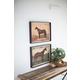 Wall Art Horse Prints Under Glass (Set of 2)