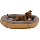 Berber Large Round Comfy Cup® Pet Bed