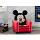 Delta Children Disney Mickey Mouse Figural Upholstered Kids Chair