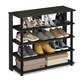 Furinno Turn-N-Tube 5 Tier Wide Shoe Rack