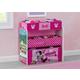 Delta Children Disney Minnie Mouse 6 Bin Design and Store Toy Organizer