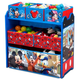 Delta Children Disney Mickey Mouse 6 Bin Design And Store Toy Organizer