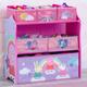 Delta Children Peppa Pig 6 Bin Design and Store Toy Organizer