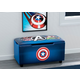 Delta Children Marvel Avengers Upholstered Storage Bench For Kids