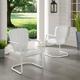 Crosley Ridgeland 2-Piece Chair Set