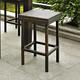 Crosley Palm Harbor 2-Piece Outdoor Counter Height Bar Stool Set