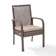 Crosley Tribeca Outdoor Wicker Dining Chair (Set of 4)
