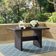 Crosley Palm Harbor Outdoor Wicker Cocktail Table