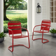 Crosley Brighton 2-Piece Chair Set