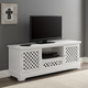 Traditional Mason TV Cabinet White