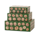 Home Accents Wood Disc Boxes (Set of 3)
