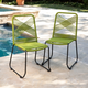 Southern Enterprises Padko Outdoor Rope Chairs 2-Piece Set