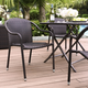 Crosley Palm Harbor Outdoor Wicker Stackable Chair (Set of 4)