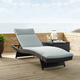 Crosley Biscayne Outdoor Wicker Chaise Lounge