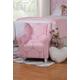 HomePop Pink Medallion Print Chair