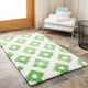 Safavieh Diamond Tufted Bath Mats (Set of 2)