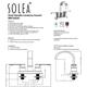 Safavieh Compose Centerset Dual Handle Bathroom Faucet