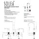 Safavieh Placid Widespread Dual Handle Bathroom Faucet