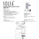 Safavieh Calm Single Handle Bathroom Vessel Faucet