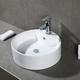 Safavieh Mira Porcelain Ceramic Vitreous Oval Bathroom Vessel Sink