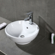Safavieh Kai Porcelain Ceramic Vitreous Round Bathroom Vessel Sink