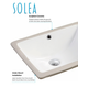 Safavieh Seaton Porcelain Ceramic Vitreous Bathroom Sink