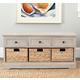 Safavieh Damien 3 Drawer Storage Bench
