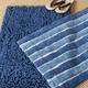 Safavieh Riviera Solid-Stripe Tufted Bath Mats (Set of 2)