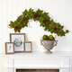 Harvest  5' Fall Maple Leaf with Pine Cones Artificial Garland