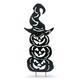 Halloween 52.3-Inch Metal Silhouette Stacking Pumpkins Yard Stake