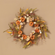 Fall 22-Inch Harvest Wreath with Fall Flowers and Berries
