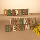 Fall Assorted Resin Inspirational Tabletop Signs (Set of 3)