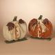 Fall Assorted Wooden Tabletop Fall Pumpkin Décor (Set of 2)