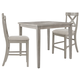 Parellen Counter Height Dining Table and 2 Barstools