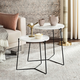 Ryne Mid Century Stacking End Table (Set Of 2)