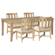 Clare View Outdoor Dining Table and 4 Chairs
